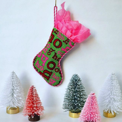 BB 0332 - Mini Stocking - Ho Ho Ho