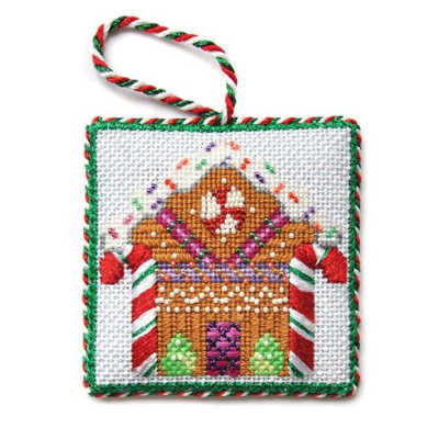 BB 3179 - Square Ornament - Gingerbread House