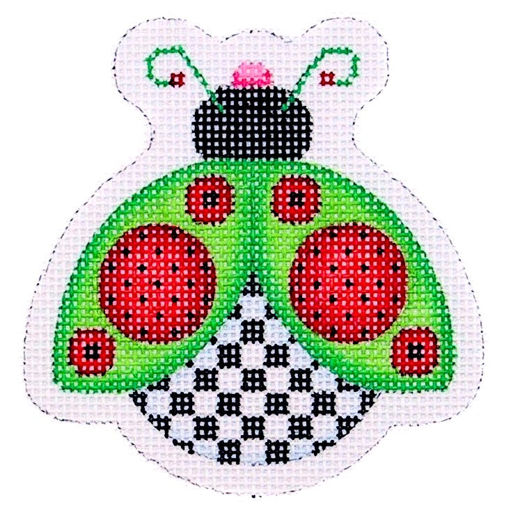 BB 1552 - Lady Bug - Green, Red & Black