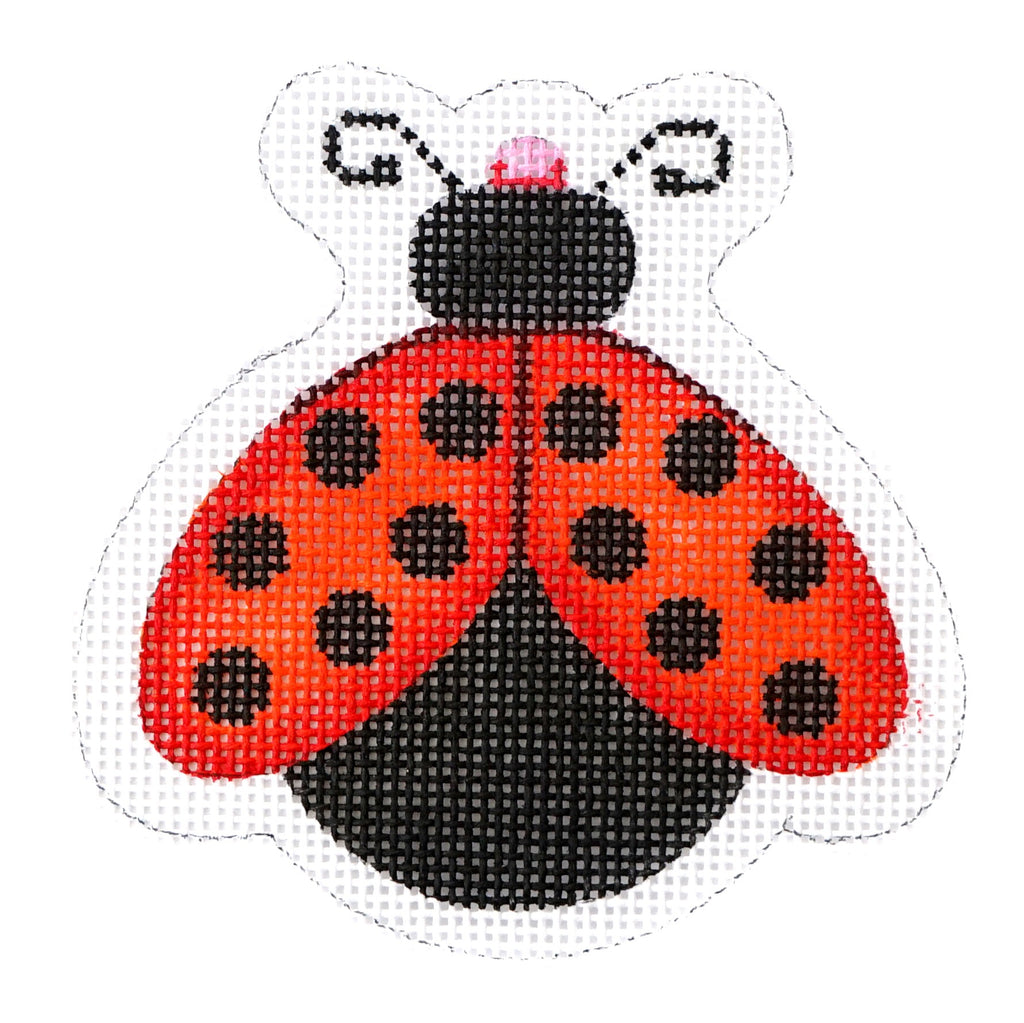 BB 1565 - Lady Bug - Red with Black Dots