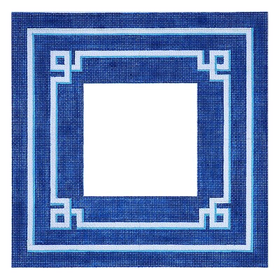 BB 6106 - Greek Key Frame - Blue