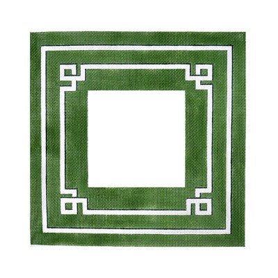 BB 6107 - Greek Key Frame - Green