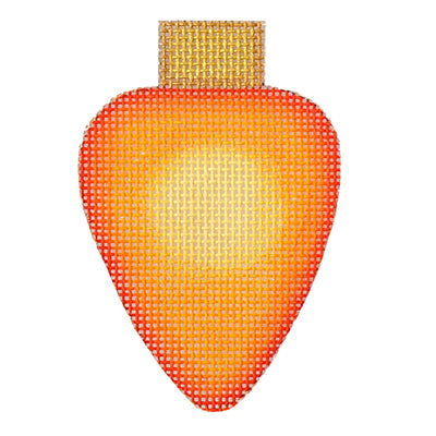 BB 6129 - Light Bulb - Orange