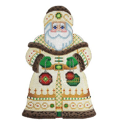 BB 6053 - Santa Claus - Gold Robe with Ornaments