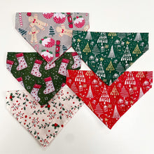 Load image into Gallery viewer, Christmas Stockings Bandana