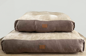 The Mattress Bed - Brown/Gold