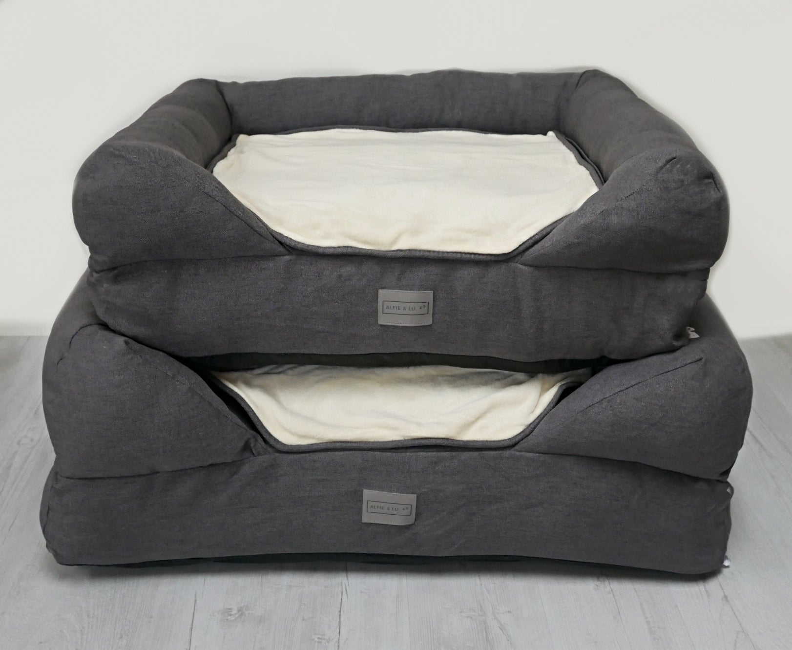*Spare Cover Only* Charcoal/Cream Lounger