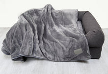 Load image into Gallery viewer, Cosy Plush Dog Blanket - Grey