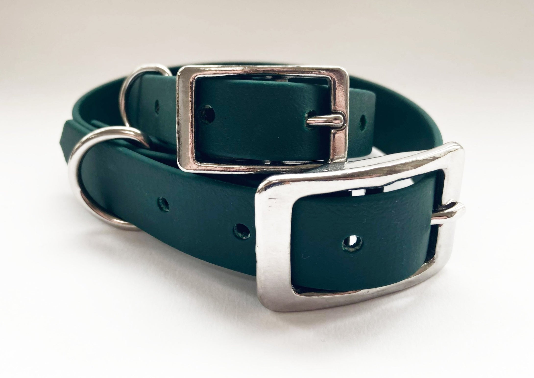 Biothane Waterproof Collar - Forest Green