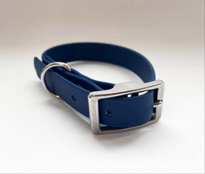 Biothane Waterproof Collar - Navy