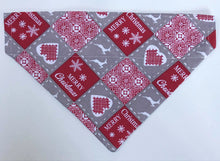 Load image into Gallery viewer, French Christmas Patchwork Bandana