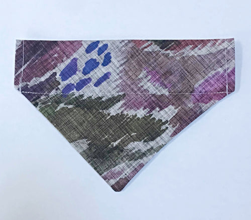 Purple Parrot Bandana
