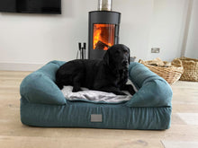 Load image into Gallery viewer, *New Style* The Lounger Bed - Teal/Grey