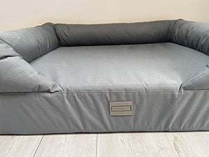 The Waterproof Lounger Bed - Blue Grey