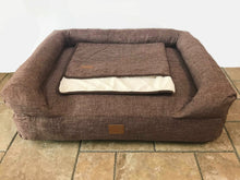 Load image into Gallery viewer, The Lounger Bed - Dark Brown