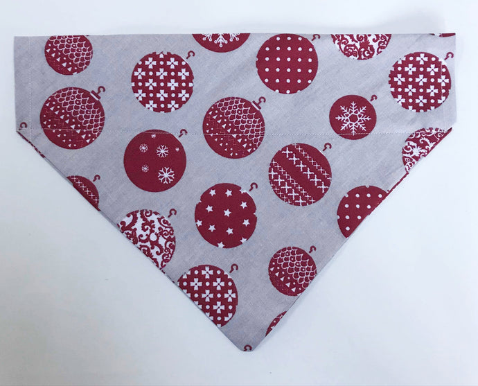 Christmas Baubles Bandana