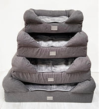 Load image into Gallery viewer, *New Style* The Lounger Bed - Charcoal/Grey