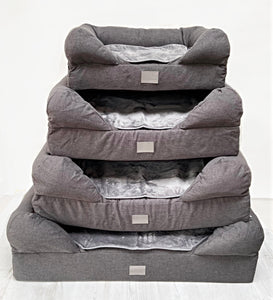 *New Style* The Lounger Bed - Charcoal/Grey