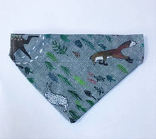 Load image into Gallery viewer, Wildlife in the Woods Bandana