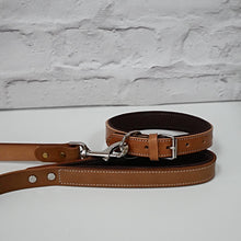Load image into Gallery viewer, Genuine Leather Dog Lead - Tan
