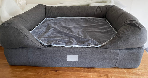 *PROTOTYPE* Large Lounger Bed - Dark Grey