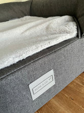 Load image into Gallery viewer, *PROTOTYPE* Medium Lounger Bed - Dark Grey