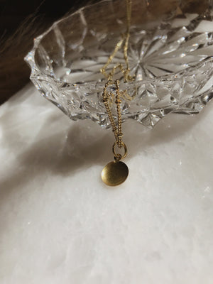 Delicate Dome Necklace
