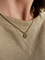 Delicate Bangin' Disc Necklace