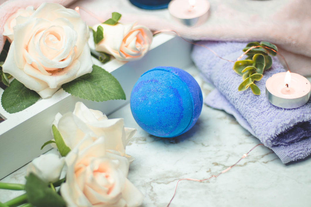 Lavender Essential Oil Bath Bomb