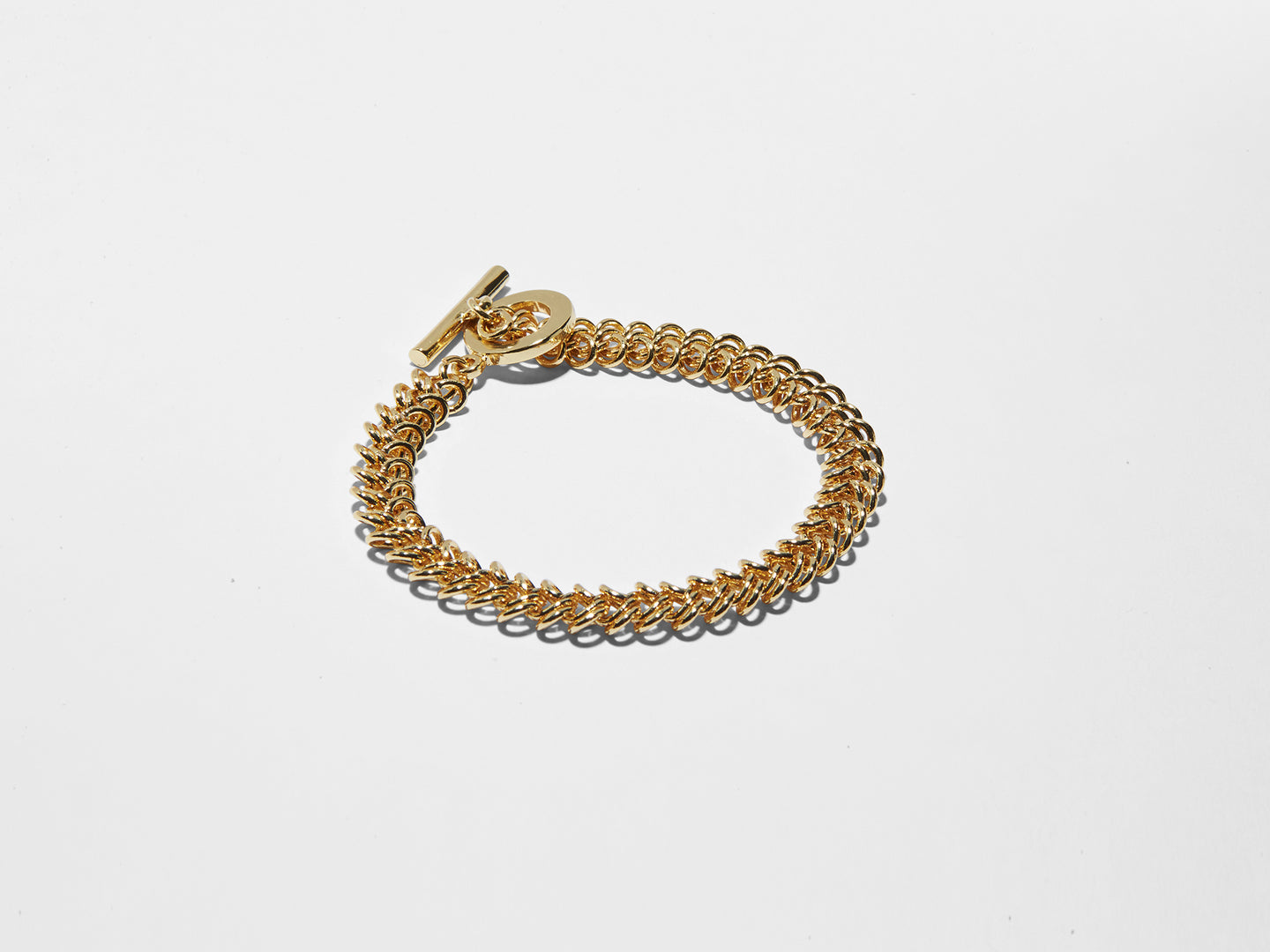 BRAIDED TOGGLE BRACELET