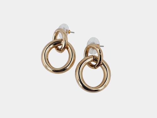 Thicc Double Link Earring