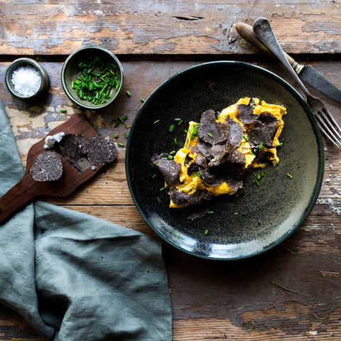 French Omelette with Truffle and Parmesan | FINE & WILD UK