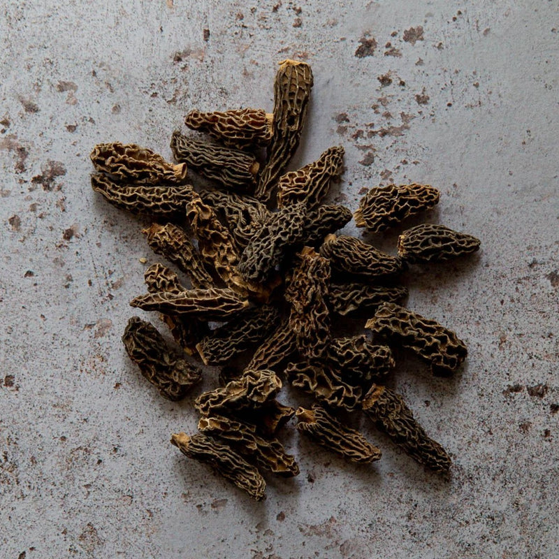 Extra quality dried morels