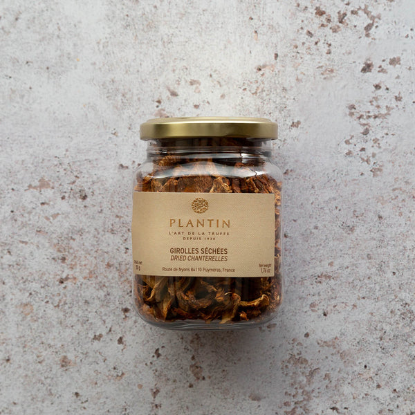 Dried Girolle Mushrooms | FINE & WILD UK