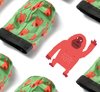 Red Gorilla Ice Silk Couple Underwear-His & Her Matching Apparel-Pinklouds
