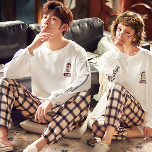 CheerCouple Long Sleeve Shirt & Pants Matching Pajama