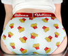 French Fries Ice Silk Couple Underwear-His & Her Matching Apparel-Pinklouds