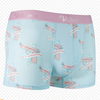 Guns Ice Silk Couple Underwear-His & Her Matching Apparel-Pinklouds