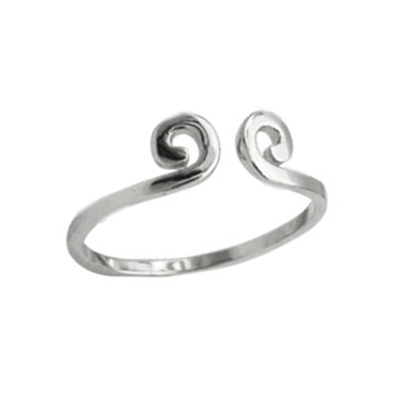 Couple's Opening Tightening Spell Shape Promise Tail Ring - Karida - Pinklouds