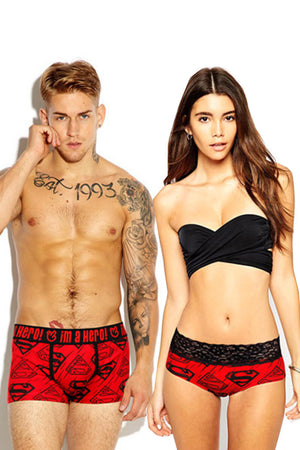 Fashion Printed Couple Matching Underwear - Mole - Pinklouds
