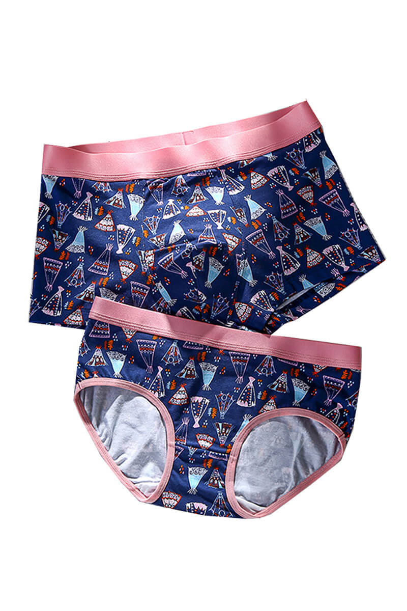 Candy Couple Underwear-His & Her Matching Apparel-Pinklouds