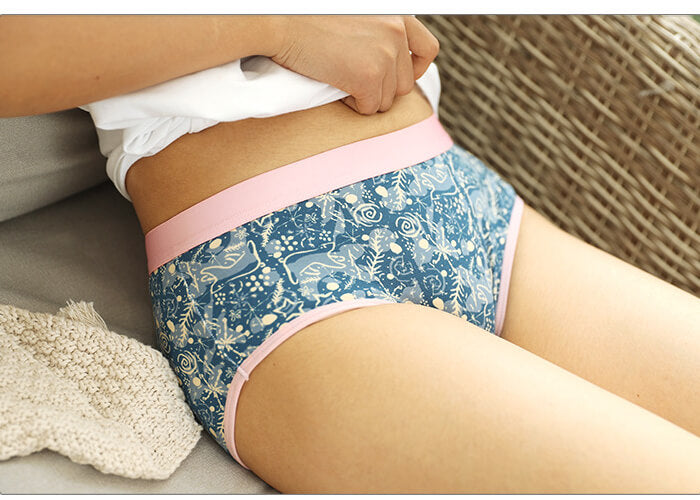 Christmas Boho Style Couple Matching Underwear - Forest - Pinklouds