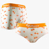 Cherry Fruit Ice Silk Couple Underwear - Pinklouds