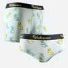 Dinosaur Ice Silk Couple Underwear-His & Her Matching Apparel-Pinklouds