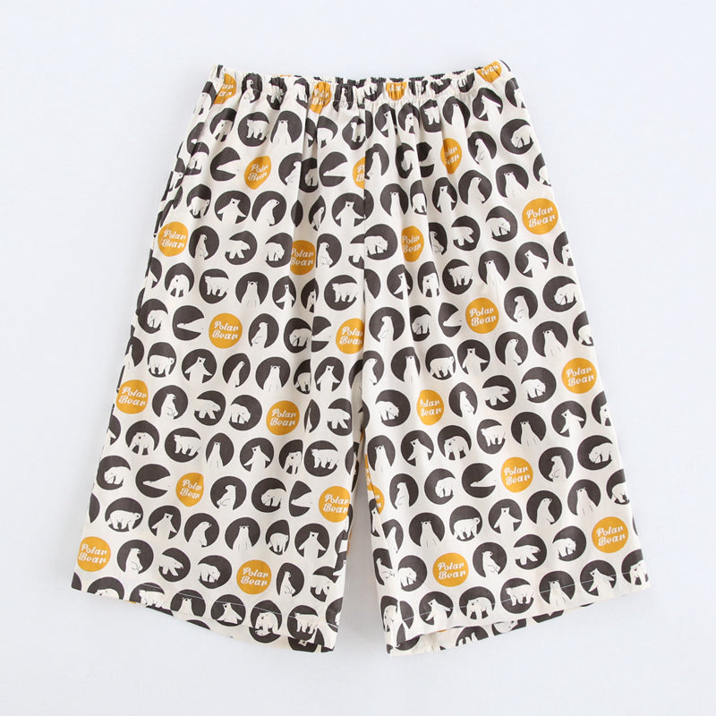 Bear & Ball Pattern Matching Couple Boxers - Pinklouds