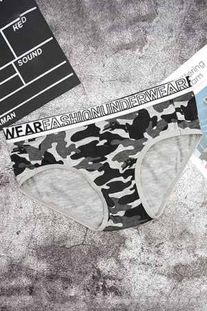 Camouflage Couple Underwear - Pinklouds