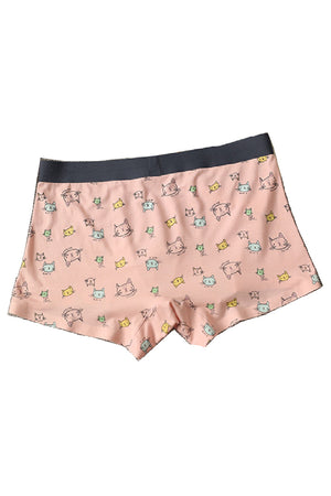 Cats Modal Couple Underwear - Pinklouds