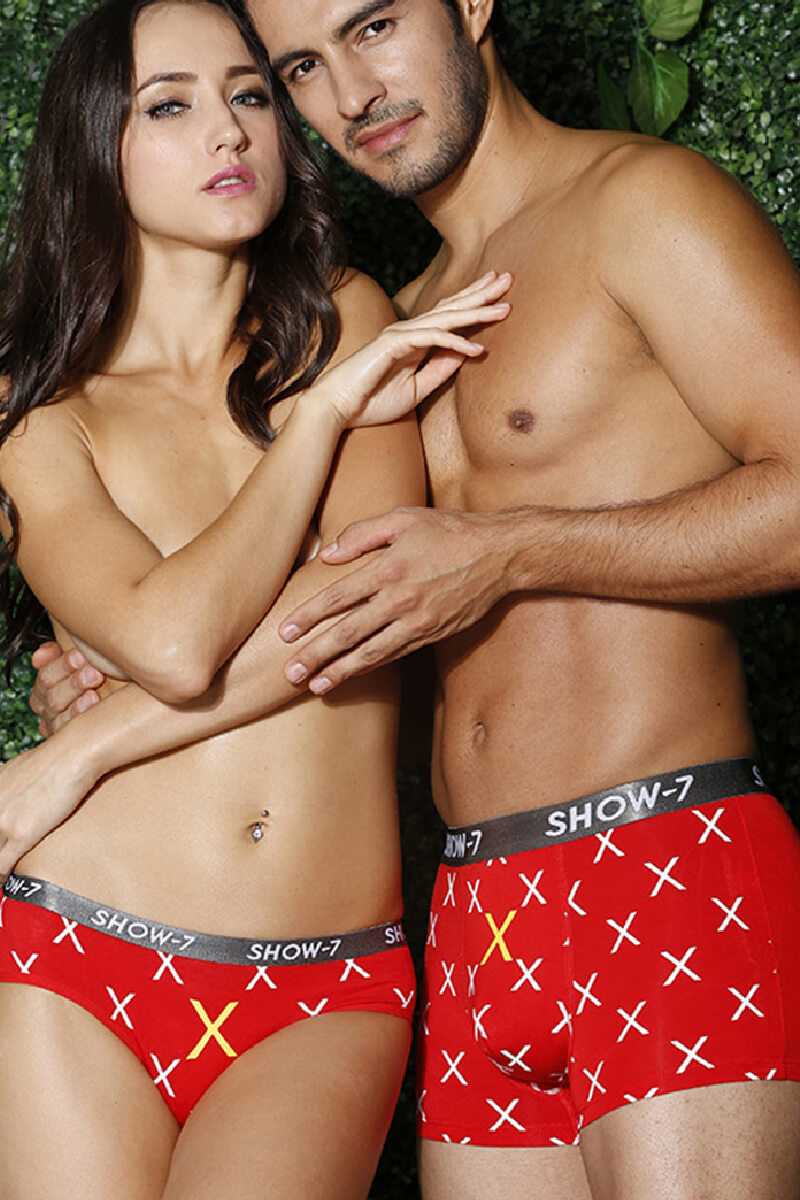 Word Couple Underwear-His & Her Matching Apparel-Pinklouds