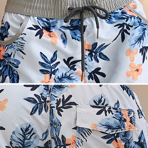 Whorl Pattern Couple Matching Beach Shorts - Hasson