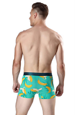 Banana Printed Couple Matching Underwear - Mertel - Pinklouds